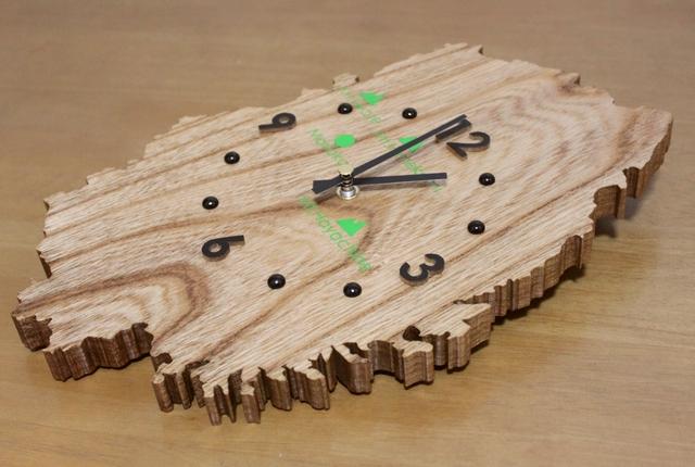 岩手県のかたちの時計2