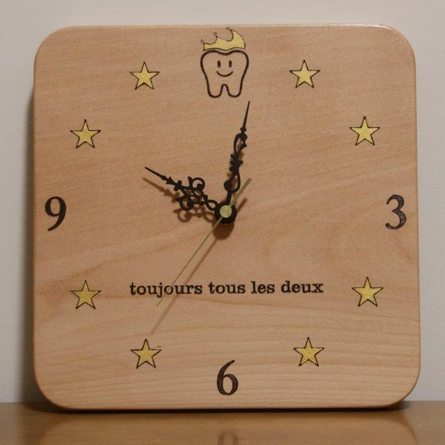 コウノトリの時計