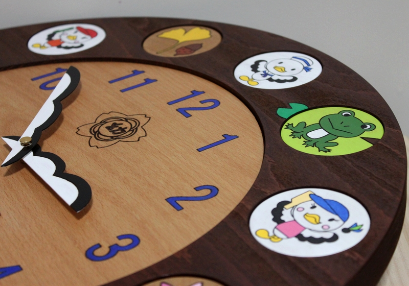 幼稚園50周年記念時計02