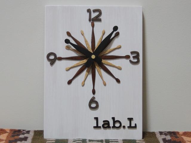 ドラムスティックの時計2