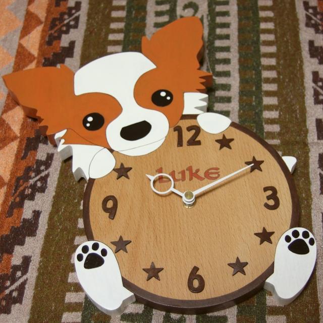 愛犬の時計