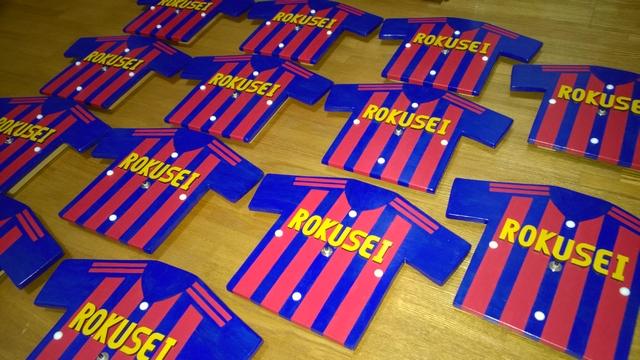 サッカークラブの退団記念3
