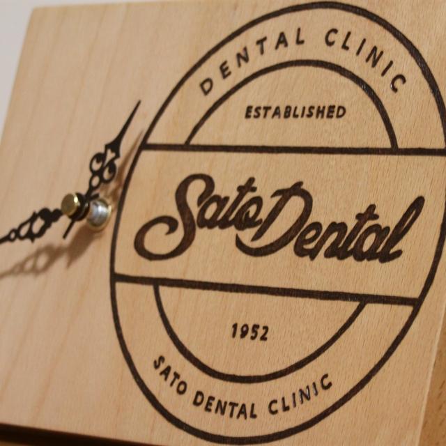 歯医者さん開業祝いの置時計