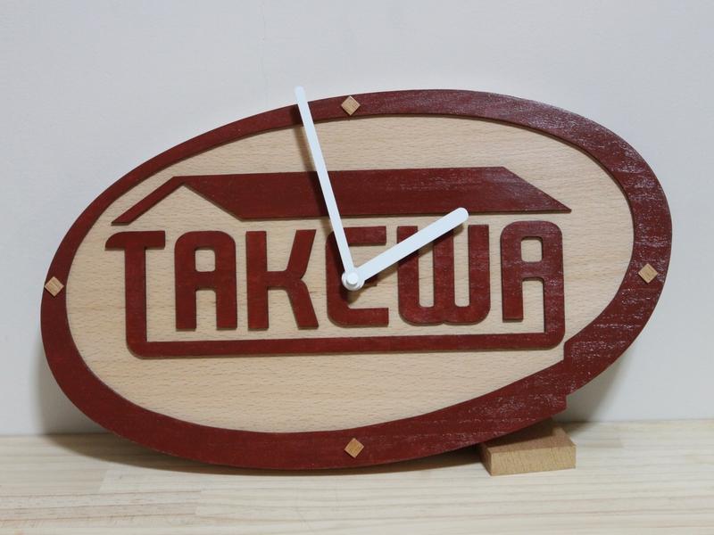 不動産ロゴ時計00